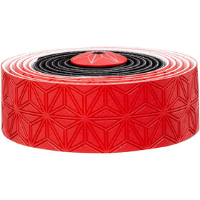 Supacaz Super Sticky Kush Starfade Handlebar Tape red/black